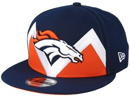 Denver Broncos 9Fifty NFL Draft 2019 Navy Snapback - New Era