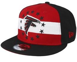Atlanta Falcons 9Fifty NFL Draft 2019 Red/Black Snapback - New Era