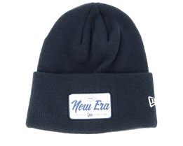 Wide Patch Navy Cuff - New Era
