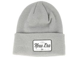 Wide Patch Dark Grey Cuff - New Era
