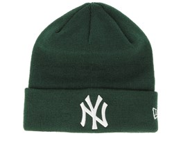 New York Yankees Essential Dark Green/White Cuff - New Era