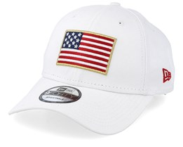 Flag Pack 9Forty White Adjustable - New Era