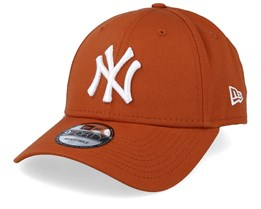 New York Yankees League Essential 9Forty Rust/White Adjustable - New Era