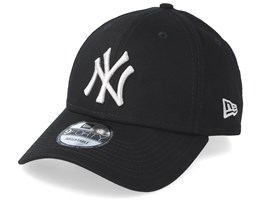 New York Yankees League Essential 9Forty Black/Silver Adjustable - New Era