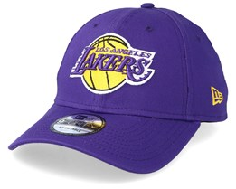 LA Lakers League Essential 9Forty Purple Adjustable - New Era