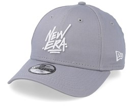 Kids Script 9Forty Dark Grey Adjustable - New Era