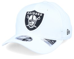 Oakland Raiders 76ers Base Stretch 9Fifty White/Black Adjustable - New Era