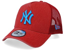 New York Yankees Washed Red/Blue Trucker - New Era
