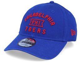 Philadelphia 76ers Vintage Team Front 9Forty Blue/Red Adjustable - New Era