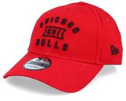 Chicago Bulls Vintage Team Front Red/Black Adjustable - New Era