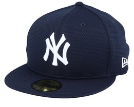 New York Yankees Training Mesh 59Fifty Navy Fitted - New Era