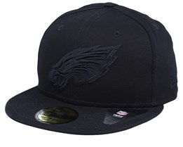 Philadelphia Eagles Team Tonal NFL 59Fifty Black/Black Fitted - New Era