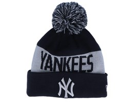 New York Yankees Tonal Knit Navy/Silver Pom - New Era