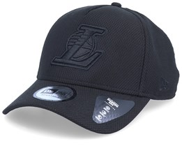 LA Lakers Team Tonal A-Frame Black/Black Adjustable - New Era
