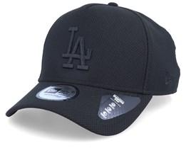 Los Angeles Dodgers Team Tonal A-Frame Black/Black Adjustable - New Era