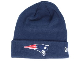 New England Patriots Knit Navy Cuff - New Era