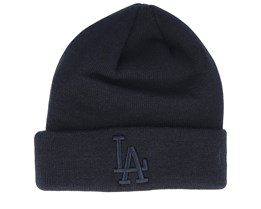 Los Angeles Dodgers Knit Black/Black Cuff - New Era