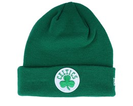 Boston Celtics Knit Green Cuff - New Era