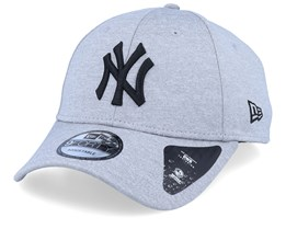 New York Yankees Shadow Tech Jersey 9Forty Gray/Black Adjustable - New Era