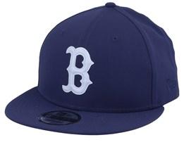 Boston Red Sox Seasonal Ripstop 9Fifty Navy/Grey Snapback - New Era