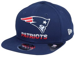 New England Patriots NFL Tech Team 9Fifty Navy Snapback - New Era