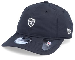 Oakland Raiders NFL Team Packable Black Adjustable - New Era