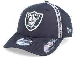 Oakland Raiders Taped 9Forty Black Adjustable - New Era