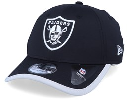 Oakland Raiders Back Script 39Thirty Black/Silver Flexfit - New Era