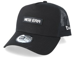 Tech Trucker Black/Black Trucker - New Era