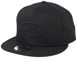 Essential Black/Black Snapback - New Era