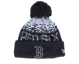 Boston Red Sox Sport Knit Black/Grey Pom - New Era