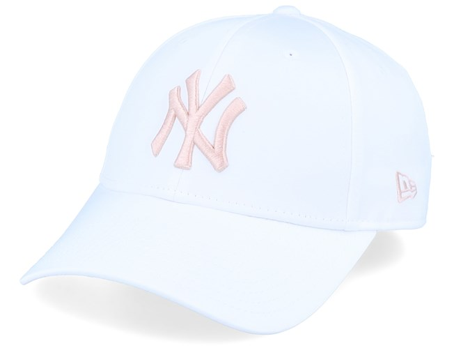 release date buying now release date: New York Yankees Womens Satin 9Forty White/Pink Adjustable - New ...