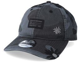 Military Flower 9Forty Black Camo Adjustable - New Era