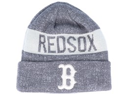Boston Red Sox Marl Knit Dark Grey/White Cuff - New Era