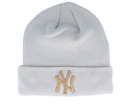 New York Yankees League Essential Stone/Wheat Cuff - New Era