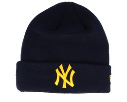 New York Yankees League Essential Navy/Yellow Cuff - New Era
