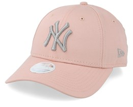 New York Yankees Women's League Essential 9Forty Pink/Silver Adjustable - New Era