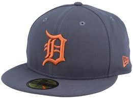 Detroit Tigers League Essential 59Fifty Graphite/Rust Fitted - New Era