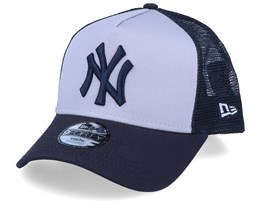 Kids New York Yankees A-Frame Grey/Navy Trucker - New Era