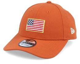 Flagged 9Forty Rust Adjustable - New Era