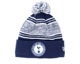 Tottenham Hotspur Fall 19 Marl Mid Bobble Navy Pom - New Era