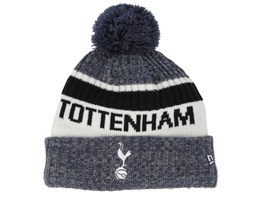 Tottenham Hotspur Fall 19 Jake Knit Navy/White Pom - New Era