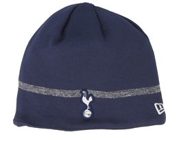 Tottenham Hotspur Fall 19 Contrast Stripe Navy Beanie - New Era
