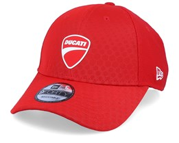 Ducati FA19 HEX Pattern Red Adjustable - New Era
