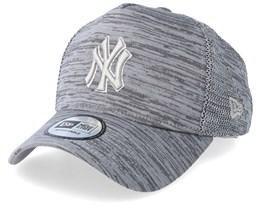 New York Yankees Engineered Fit Grey/Grey Adjustable - New Era