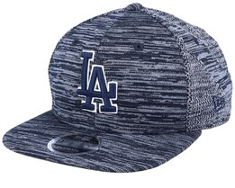 Los Angeles Dodgers Engineered Fit 9Fifty Heather Navy/Navy Snapback - New Era