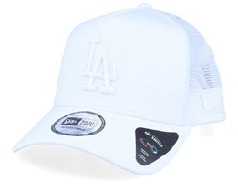 Los Angeles Dodgers Dry Switch White/White Trucker - New Era