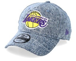 LA Lakers Dipped Denim Blue Adjustable - New Era