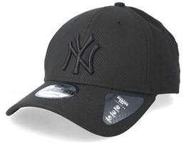 New York Yankees Diamond 9Forty Black/Black Adjustable - New Era