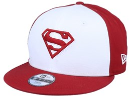 Kids Superman Character Front 9Fifty White/Red Snapback - New Era